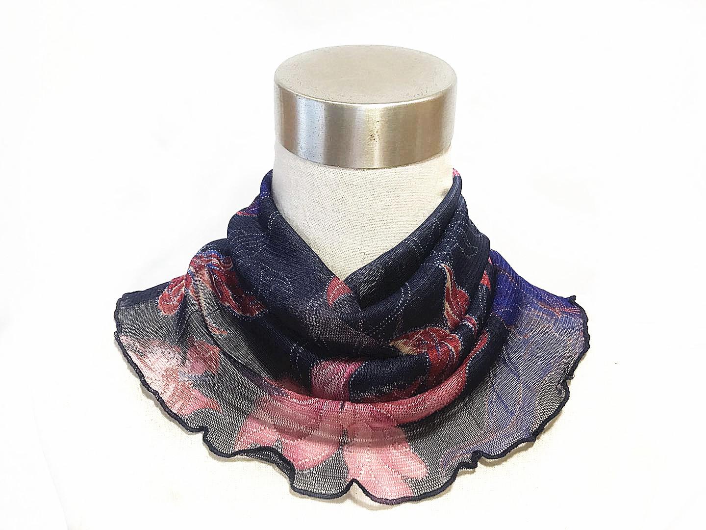 Real silk neckband scarf Korean fashion silk scarf womens winter sun protection neck protection full mulberry silk neckband false collar