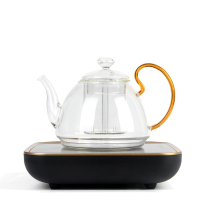 Simple tea black Camellia tea fruit tea furnace Home automatic heat-resistant glass steam tea kettle