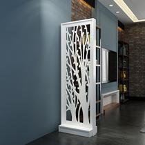 家居客厅餐厅卧室现代时尚移动实木座屏风玄关隔断推荐天然竹子