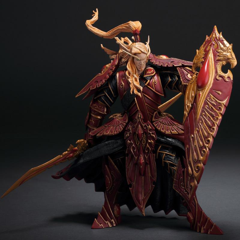 3代魔兽世界血精灵圣骑士手办玩偶模型玩具礼物收藏摆件人偶