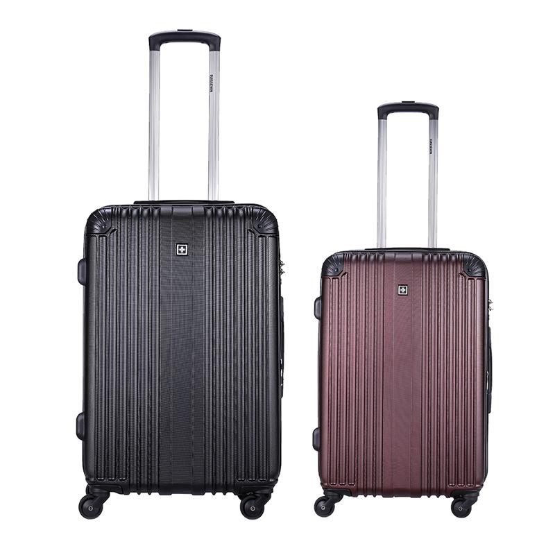 Swiss Sergeant knife Trolley Case universal wheel 20 inch boarding luggage code box womens 24 travel box mens towing box