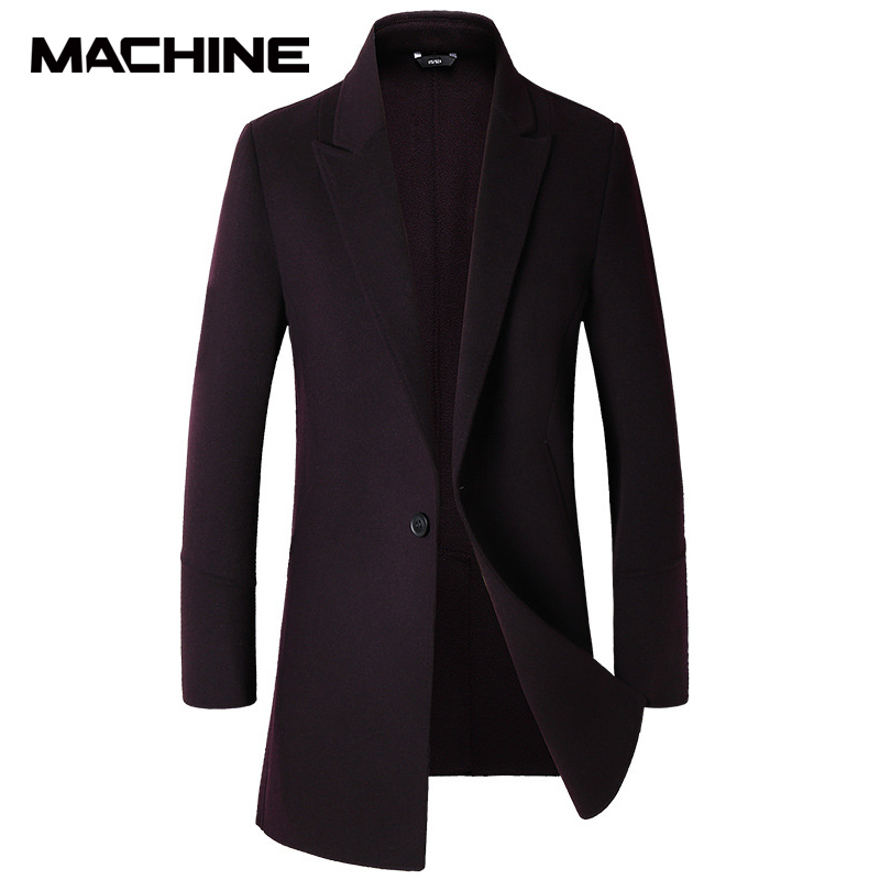 Jianou autumn and winter new double faced woolen overcoat