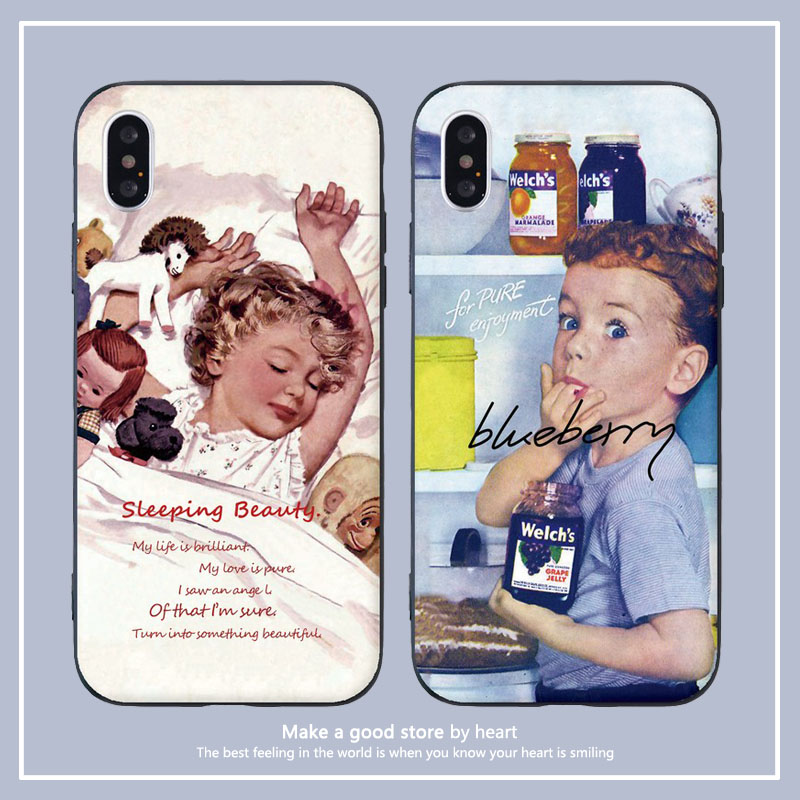 欧美油画情侣款10小米11苹果12手机壳7xr8plus9pro硅胶mini全包se防摔iphoneXsmax至尊青春版浮雕创意ins风潮