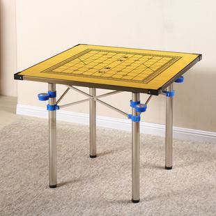 包邮折叠手搓麻将桌简易家用棋牌两用餐桌子宿舍手动特价面板饭桌价格
