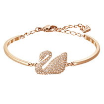Swarovski rose Golden Swan crystal texture bracelet bracelet to send girlfriend gift 5142752
