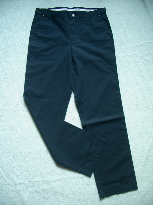 Jiangsu Zhejiang Shanghai Baoyou Leichi counter business casual blue casual pants