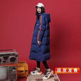 冬季外套羽绒棉服女2019新款韩版长款过膝棉袄棉衣冬保暖时尚冬装图片
