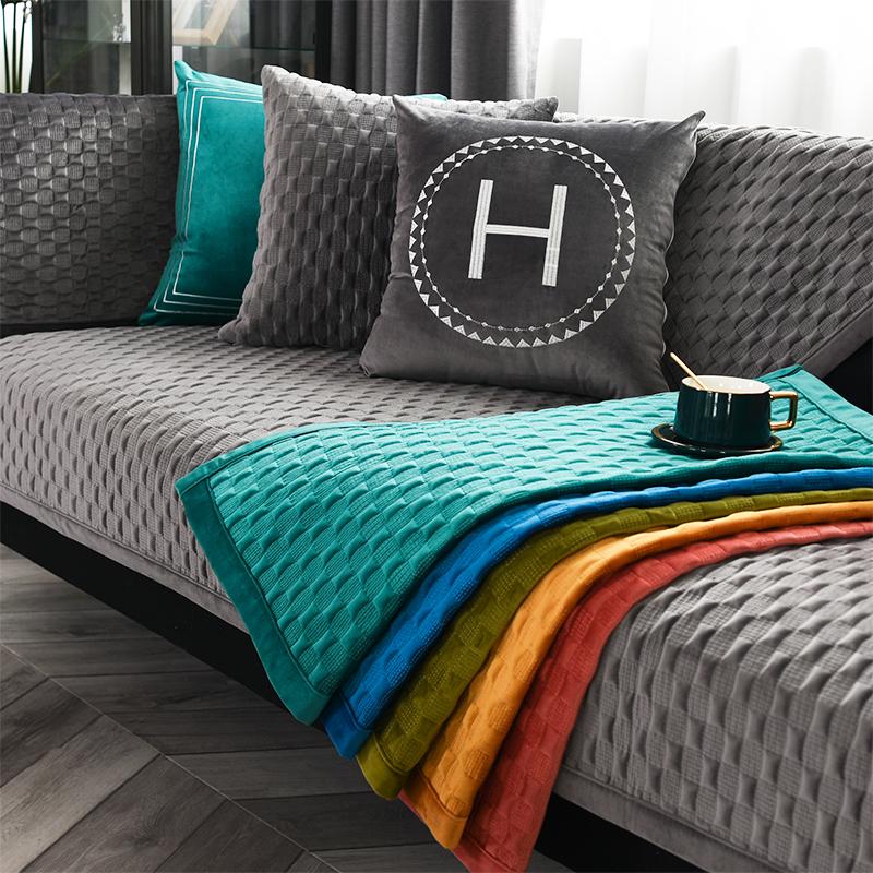 四月天韩式沙发垫