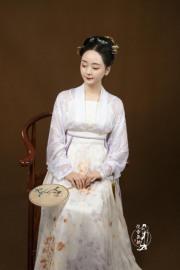 【百结】宋制真丝合领衫对穿  汉族传统服饰  量身定制图片