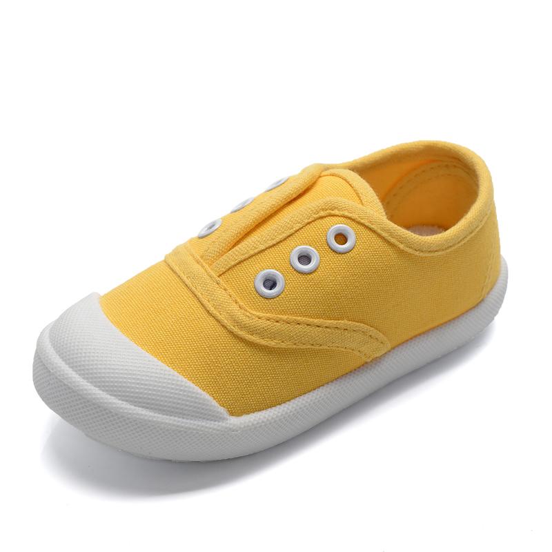 2016春秋兒童帆布鞋男童女童寶寶單鞋小童鞋子板鞋 潮流小白鞋