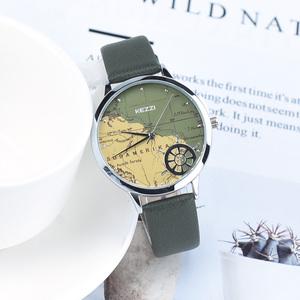领5元券购买珂紫航海地图个性创意户外防水手表