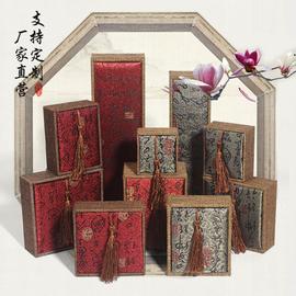 珠宝首饰包装盒 手镯佛珠手串吊坠盒项链戒指复古礼品木盒子批发图片