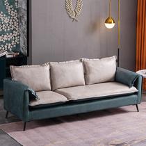 2040林氏木业北欧科技布艺沙发现代简约小户型大客厅组合家具套装