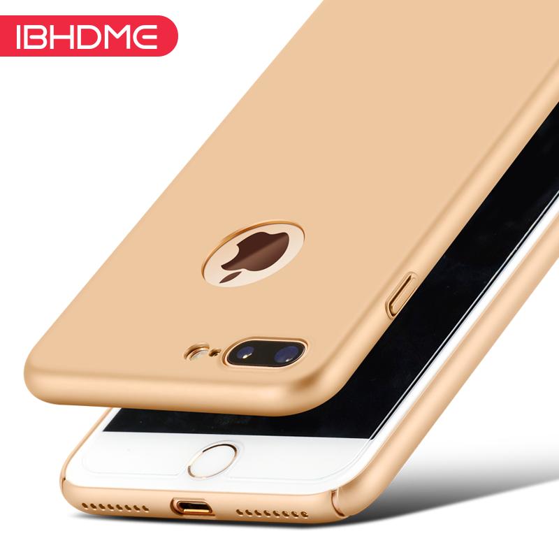 蘋果7手機殼 7plus手機套iPhone7輕薄磨砂七保護硬殼黑防摔外殼新