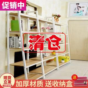 置物架落地多层收纳整理架子客厅宜家卧室组合储物架货架创意书架
