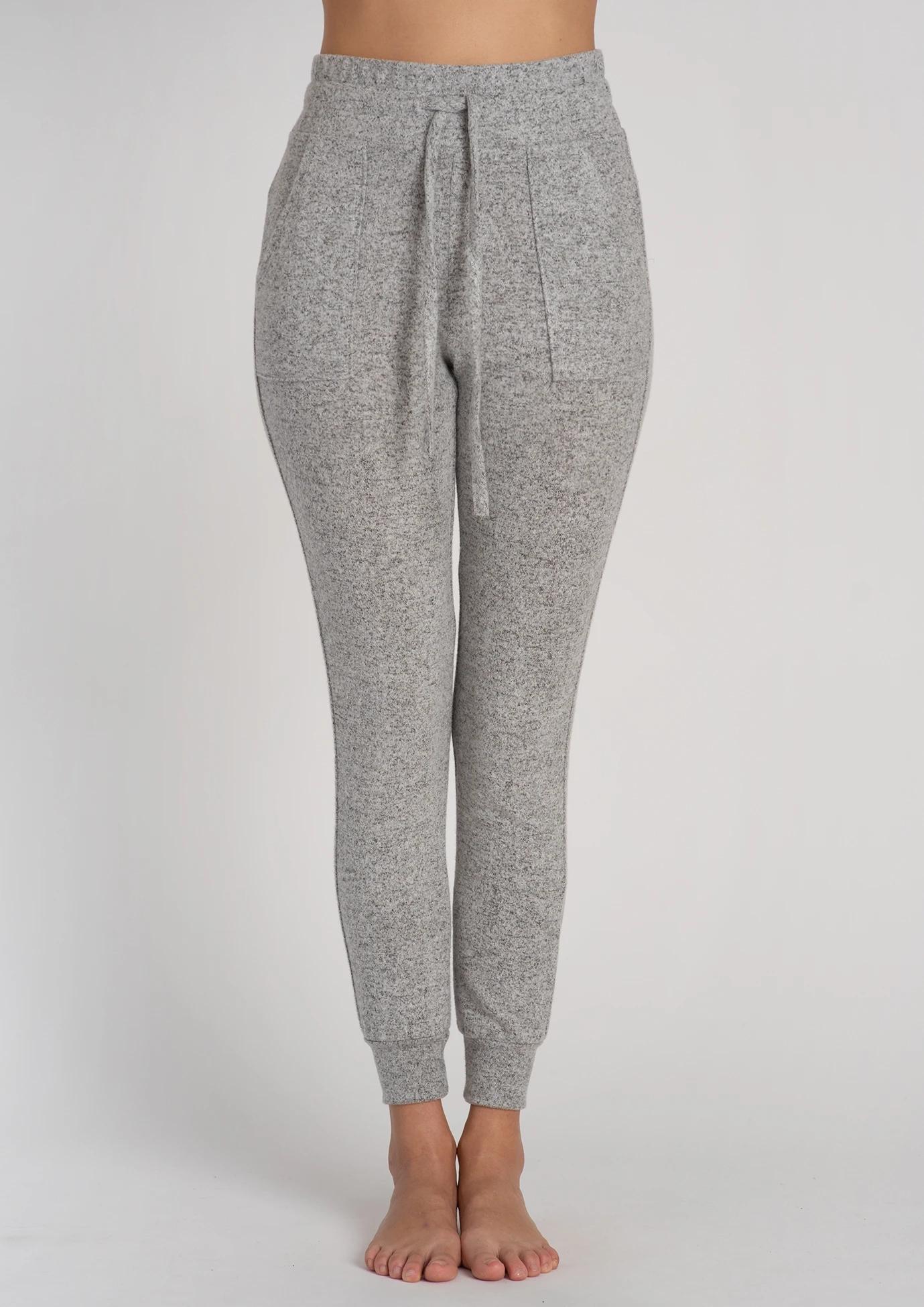 【一抹嘴儿】全球购Jalaclothing 超软拉绒平纹慢跑裤瑜伽运动裤