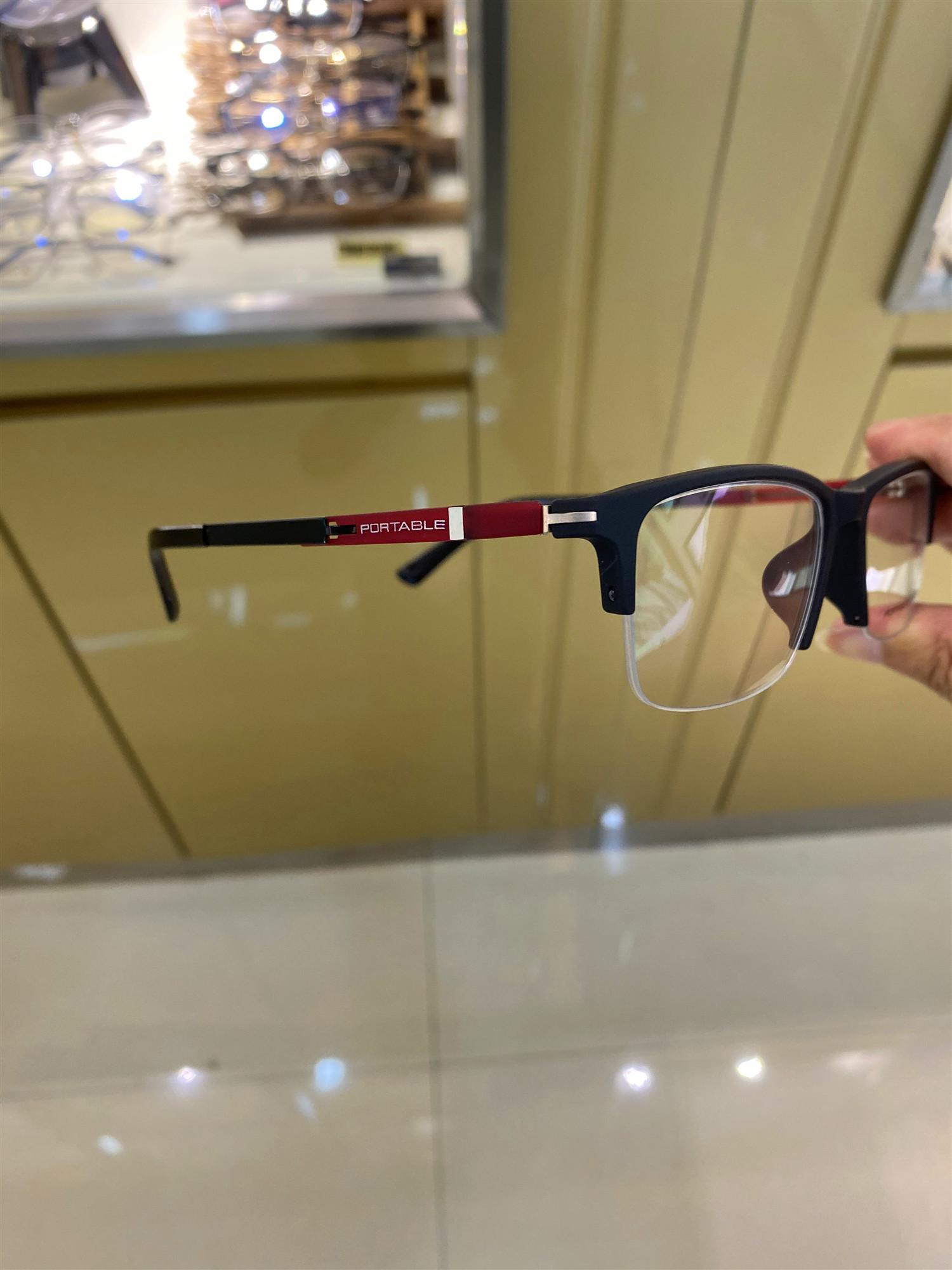 实体现货保时捷款眼镜框男超轻近视眼镜架半框成品商务框tr90包邮