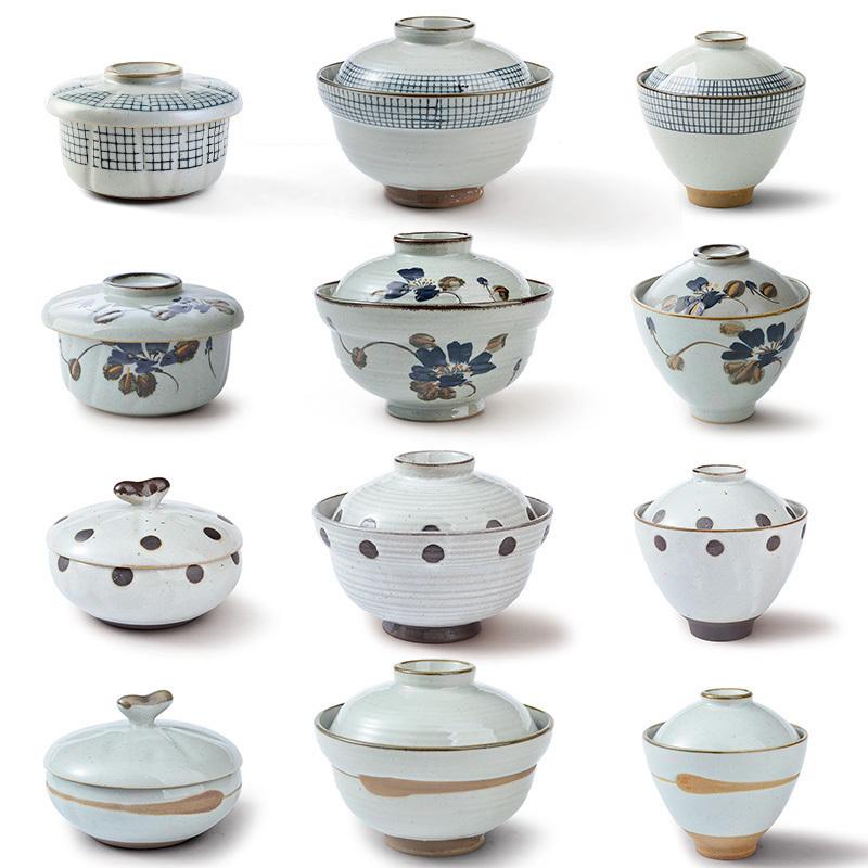三分烧日式创意炖盅陶瓷燕窝隔水炖蛋盅鱼翅盅带盖碗汤盅蒸蛋碗盅