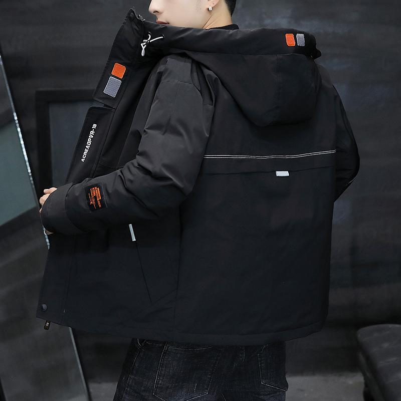 棉衣男秋冬季外套男加厚棉袄潮流韩版冬装2019年新款羽绒棉服男