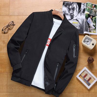 男士外套2020春秋季新款棒球服韩版潮流帅气修身秋装休闲上衣夹克