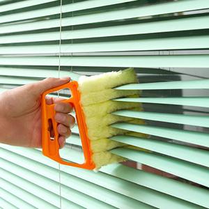 百叶窗清洁刷清理神器窗帘除尘刷子百页帘遮光帘卷帘缝隙窗缝沟槽