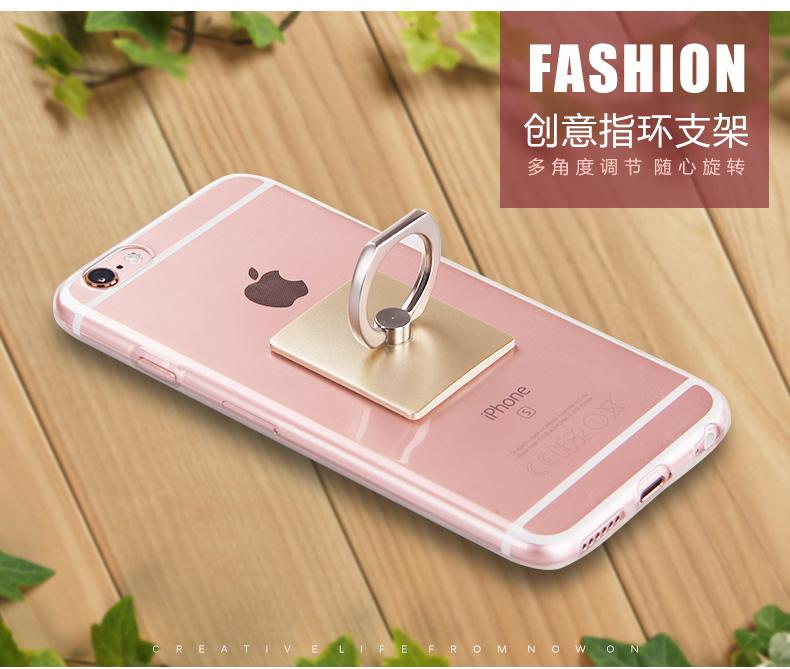 便携式指环支架 通用平板手机支架卡扣粘贴式金属环旋转定制多功