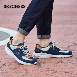 领20元券购买skechers新款潮流系带运动鞋男鞋