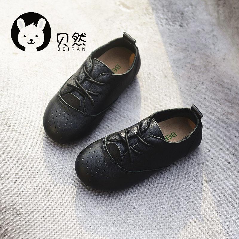 贝然女童韩版公主鞋豆豆鞋2020棉鞋