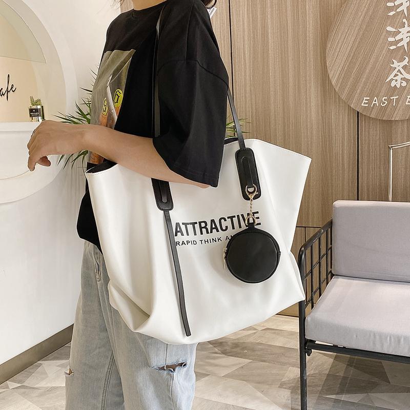 托特包包女包2020新款潮大容量时尚韩版网红大包高级感手提单肩包