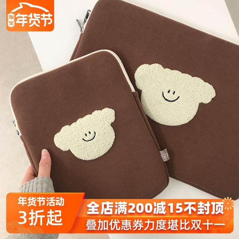 韩国正品30days笔记本电脑13寸内胆包15寸提拉米苏样式10寸平板包