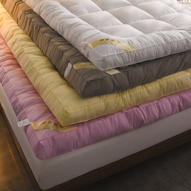 Tatami foldable down cotton mattress thickened 10cm 1.5m1.8m bed sheet double 1.2 dormitory quilt