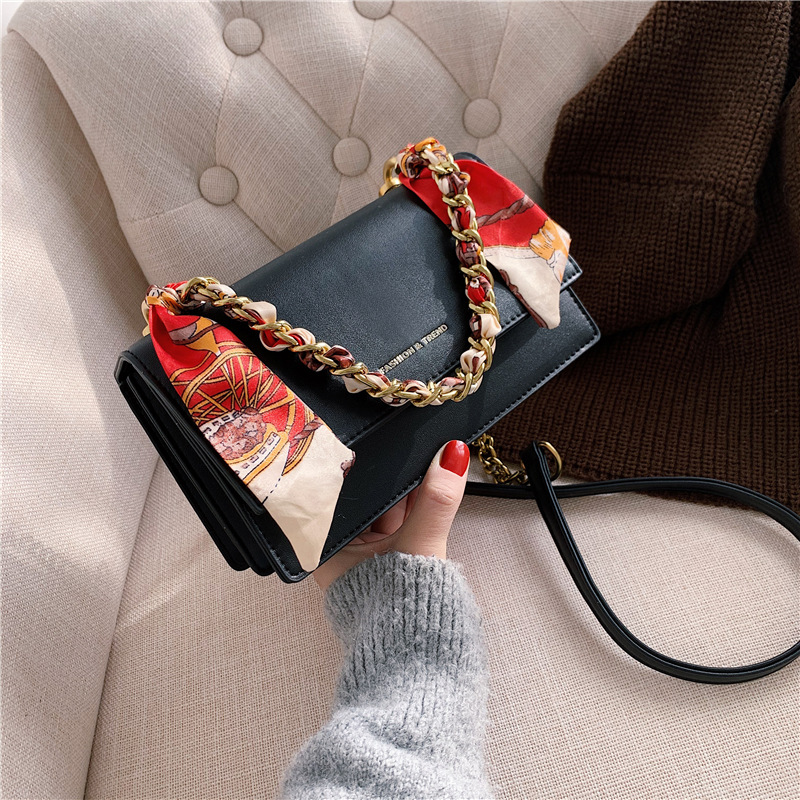 Bag womens bag new 2020 trend spring all-around Japanese and Korean version small square bag chain strap messenger bag womens summer fashion