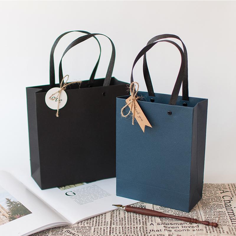 母亲节礼品袋手提袋韩版小清新生日伴手礼物包装盒简约纸袋礼品盒