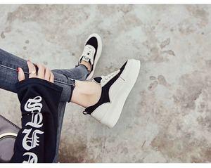 6610韩版潮鞋皮质很软穿起来柔软舒适~ 女神气息