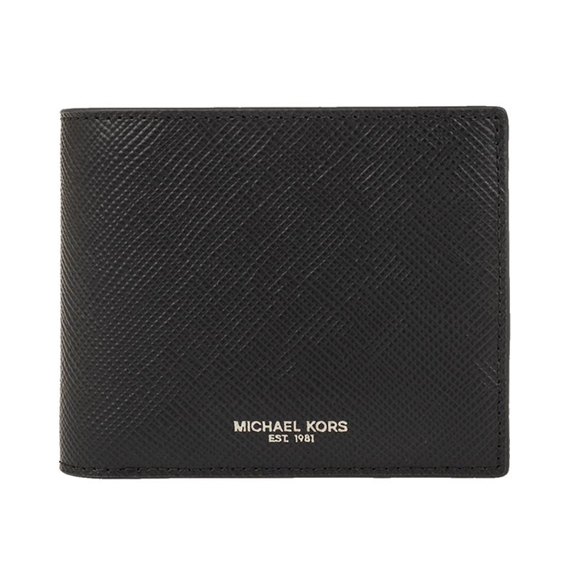 Michael Kors/MK男士折叠短款钱包新款卡包男包 36U9LHRE6L图片