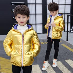 男童2019新款洋气中长款儿童棉衣