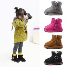 防水加绒宝宝雪地靴