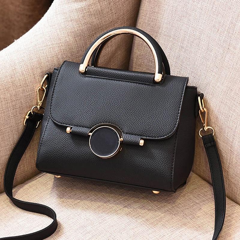 女包2018新款包包女韩版单肩斜挎包时尚个性手提包大气简约小方包