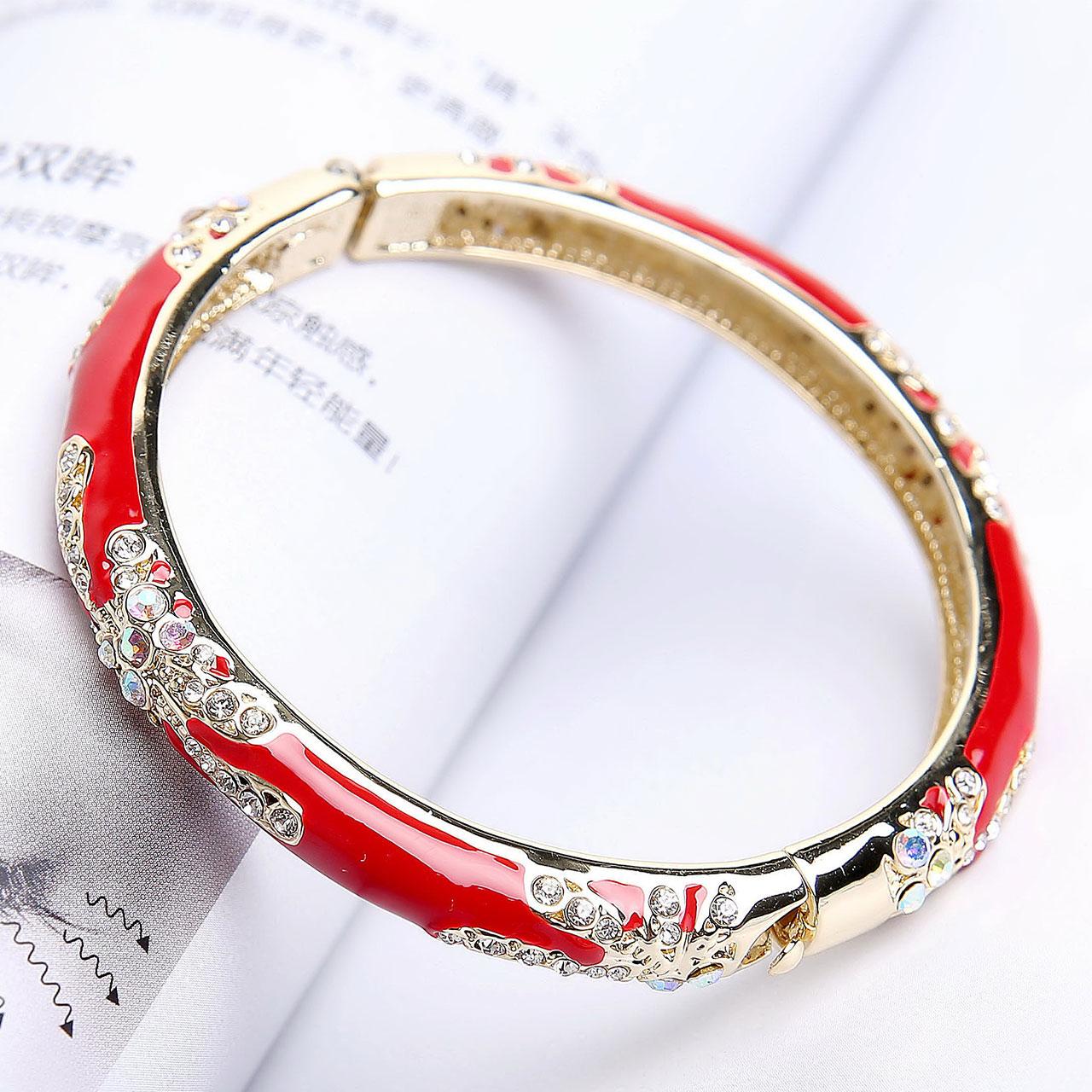Ретро перегородчатой браслет женские модели личность позолоченный браслет браслет сын из страна отвезти старый иностранных творческий пекин характеристика подарок