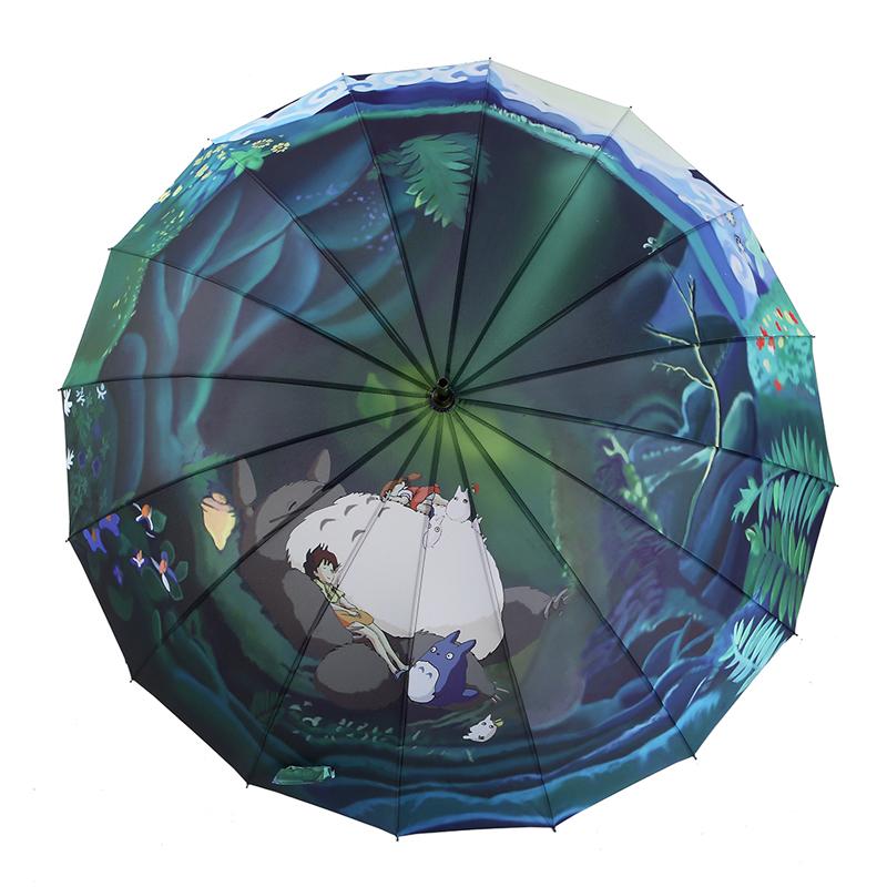 宫崎骏龙猫女晴雨两用折叠太阳伞79.00元包邮