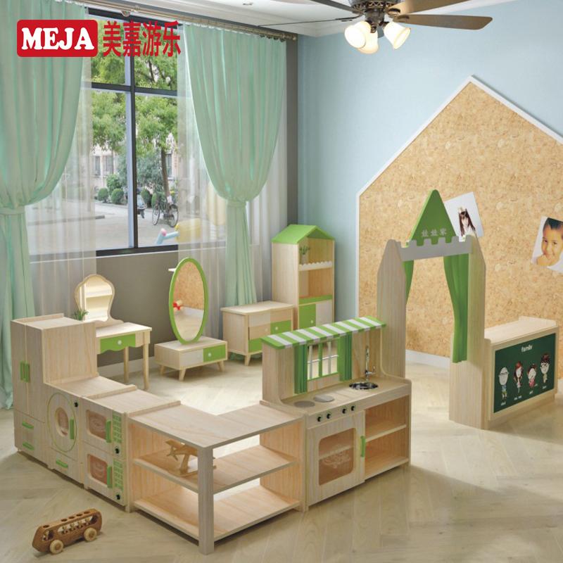 幼稚園全屋カスタム家具早教前おもちゃ棚収納棚人形家厨房区コスプレ