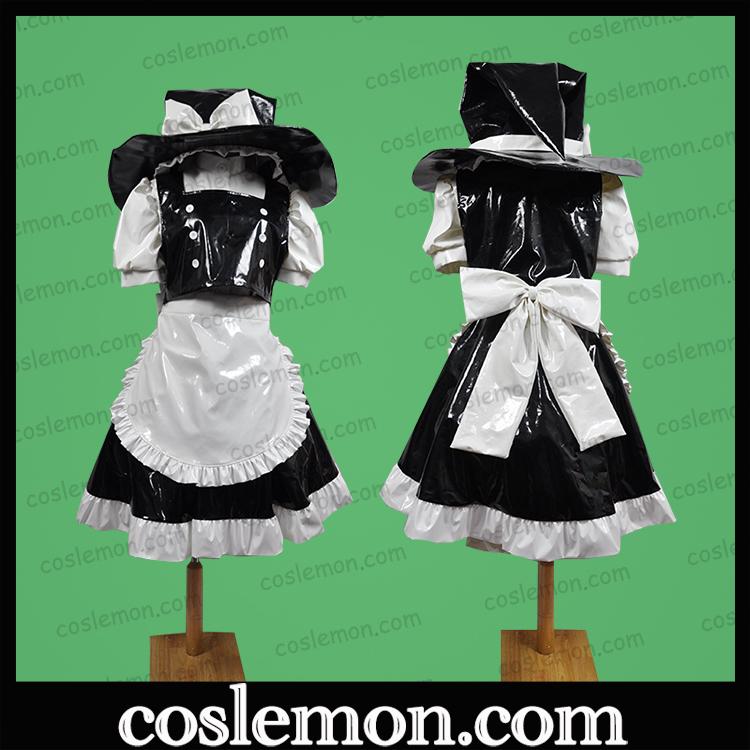 Coslemon Oriental project fog rain devil Lisa maid cos dress full Cosplay mens and womens clothing