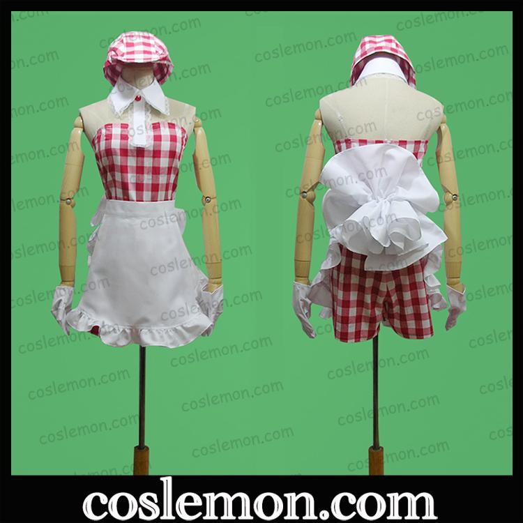 Coslemon Hamasaki Hamasaki Hamasaki Sexy Maid cos dress full Cosplay mens and womens clothing