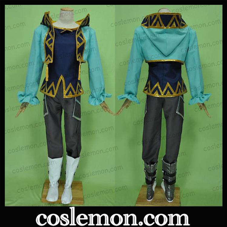 coslemon圣恩传说阿斯贝尔兰特 年幼期cos服全套cosplay男女