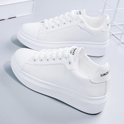 2020年冬季小白鞋女爆款加绒新款2021春白鞋网红女鞋运动百搭板鞋