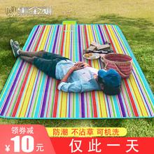 郊游野餐垫ins风田园日式北欧郊外野外儿童超轻加厚防潮户外地垫