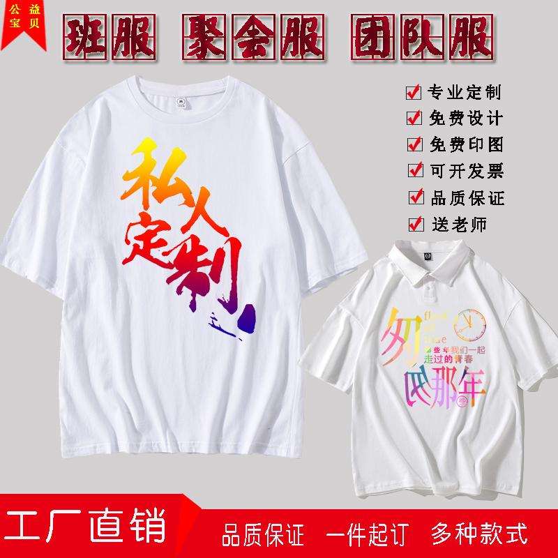网眼高品质印字logo数码t恤培训渐变色热转移拓展旅游定制�B21513