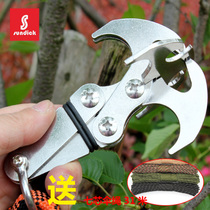 Mountain customers outside mountaineering climbing Magic Bao multi-function grab hook gravity hook strong suction ring Flying Tiger Claw