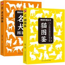 猫图鉴名犬图鉴共2本宠物书籍宠物犬科普知识百科全书养猫指南饲养技巧书籍宠物喂养常识饮食护理养宠物基本常识图书籍