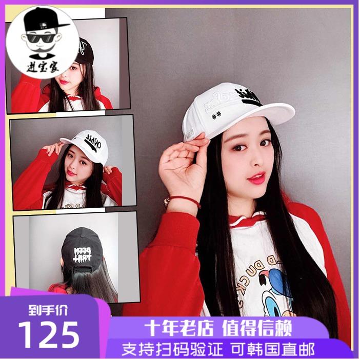韩国11月新品 MLB正品棒球帽黑白拼色鸭舌帽男女个性潮帽CPY2/Y3